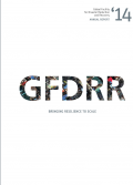 This is the cover page for the GFDRR Annual Report 2014