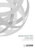This is the cover for the gender action plan.