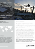 This is the cover for Program Profile Disaster Recovery Framework