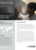 This is the cover for the Program Profile Global Program for Safer Schools