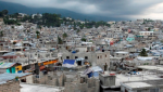 This is a view of Delmas 32, a neighborhood in Haiti.