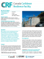 Canada-Caribbean Resilience Facility (CRF) Brief