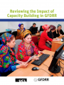 This is the cover for Reviewing the Impact of Capacity Building in GFDRR